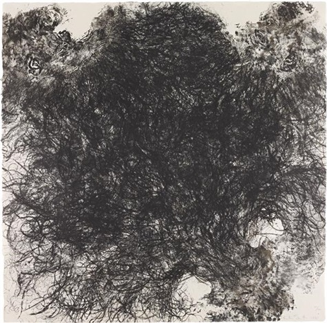untitled hair by kiki smith