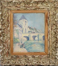 la porte de bourgogne à morêt sur loing by frank milton armington