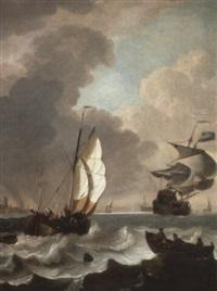 shipping in choppy seas by hendrik rietschoof