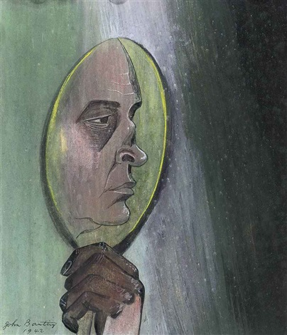 in a looking glass by john banting