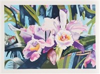 irises by linda bastian