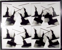 four by four: statue of liberty by christopher makos
