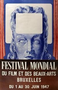festival de bruxelles by rené magritte