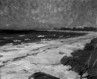 nantucket beach by carl t. linden