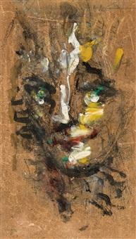 tête de femme, préliminaire, et fillette (4 works) by paul joostens