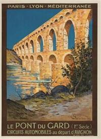le pont du gard by e. couronneau