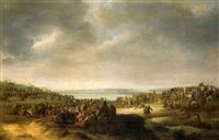 une procession religieuse by robert van den hoecke