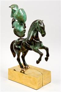 caballo. cabeza by francisco baron