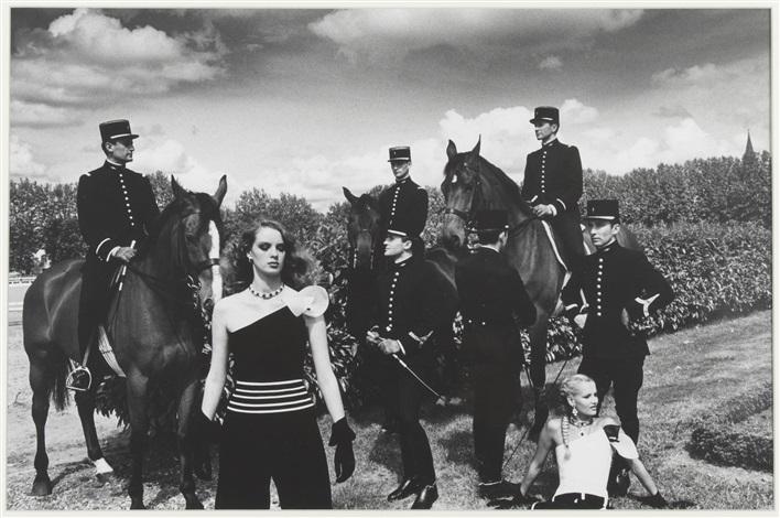 le cadre noir 2 by helmut newton