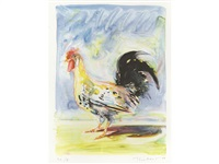 rooster (from the physiology of taste) by wayne thiebaud