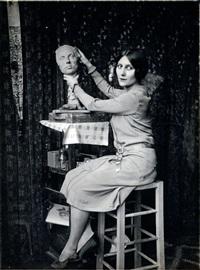 portrait de napierkowska by gilbert rené