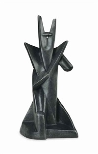 king solomon by alexander archipenko