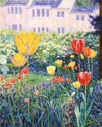 yellow tulip by diane monett