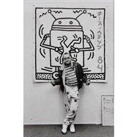keith haring à la galerie, paris by michel ginies