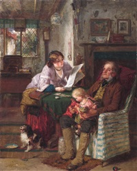 the letter by thomas faed