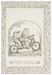 frog and toad together (cover design for frog and toad together) by arnold lobel