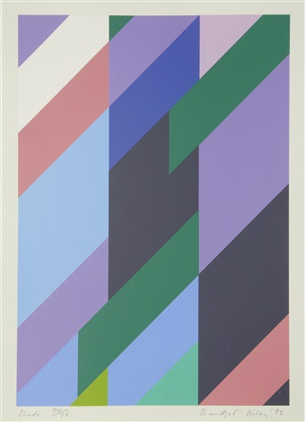shade by bridget riley