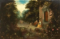 vertumne et pomone by jan brueghel the younger