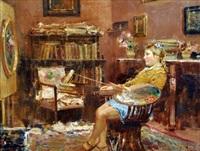 Nello studio del pittore