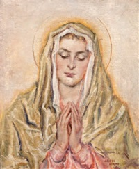 la vierge by francesco arata