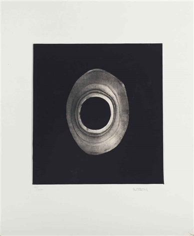 untitled from ten from leo castelli by lee bontecou