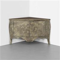 corner cabinet by max kuehne