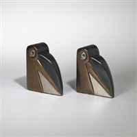 bookends (pair) by a. drexler jacobson