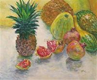 菠萝瓜果 by xu jianbai