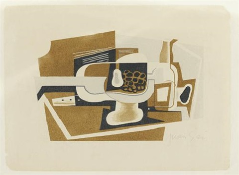 nature morte by juan gris