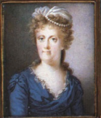 maria carolina, queen of naples by nicolas-françois dun