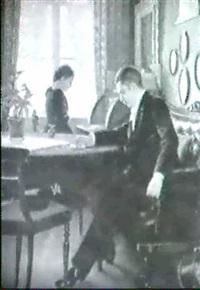 interior med ungt par by holga elise amalie reinhard