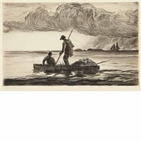 whaler canton (+ 11 others; 12 works) by reynolds beal
