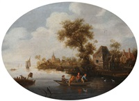 paysage aquatique by jan van ossenbeeck