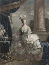 marie-antoinette de lorraine - d'autriche, reine de france (by roger) by rosseline le suedois