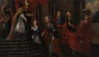 la presentación de la virgen maría niña en el templo by mexican school (17)