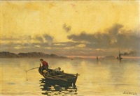 fishing by frithjof smith-hald