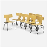 anziano chairs (set of 8) by john hutton