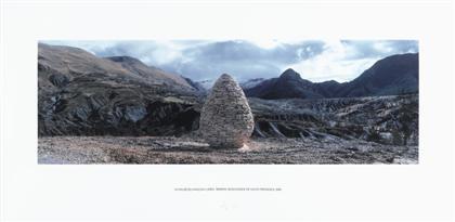 la vallee du vançon cairn reserve geologique de haute provence by andy goldsworthy