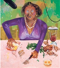 cook show host by dana schutz
