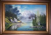 untitled (mountain scene) by bill alexander