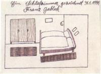 ein schlafzimmer by franz gableck