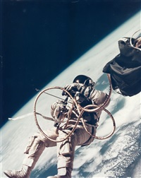first us spacewalk - ed white's eva over the gulf of mexico, gemini 4, 3 june 1965 by james mcdivitt