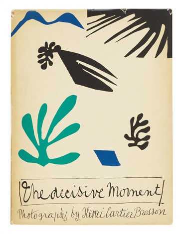 the decisive moment (book w/original cover) by henri cartier-bresson