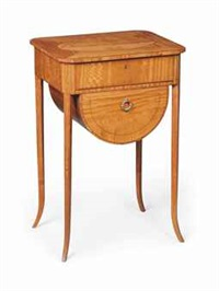 edwardian work table by waring & gillow