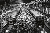 churchgate station, bombay, india by sebastião salgado