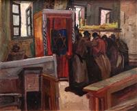 synagogue by saul raskin