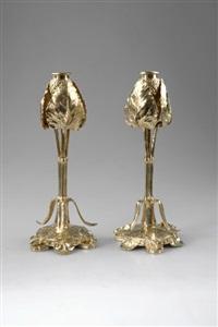 leuchter (pair) by louchet (co.)