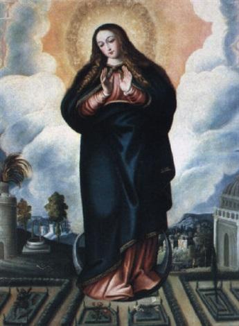 inmaculada by juan fray sanchez y cotan