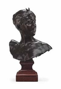 bust of diana by jean alexandre joseph falguière