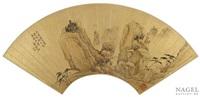 landschaft nach li cheng (919-967) by xiao yuncong